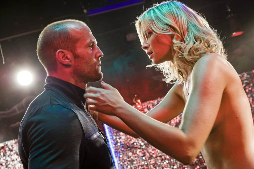 Amy Smart and Jason Statham Crank 3