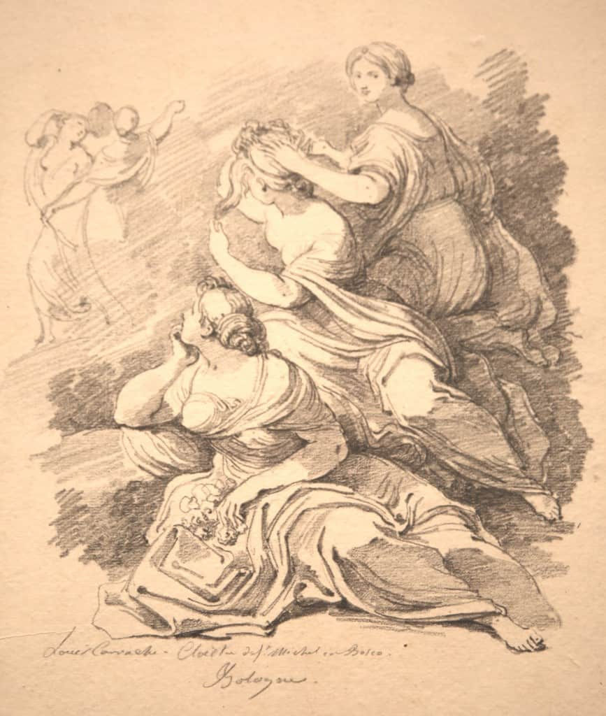 Fragonnard_ludovicoCarracci_groupede3femmesAssises1605_Bologne