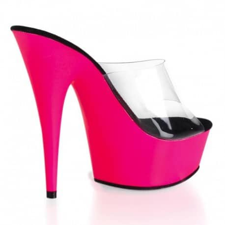 mules-plateformes-pleaser-delight-601uv-transparent-rose-fluo